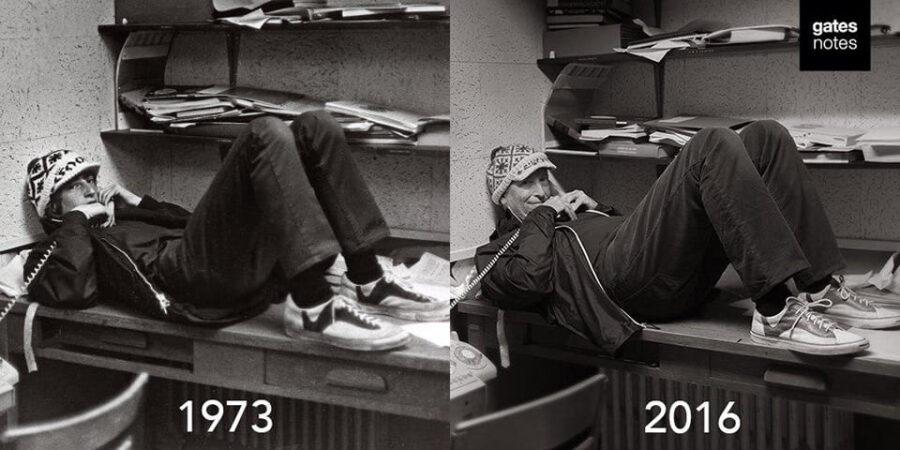 Билл Гейтс, 1973-2016 гг.