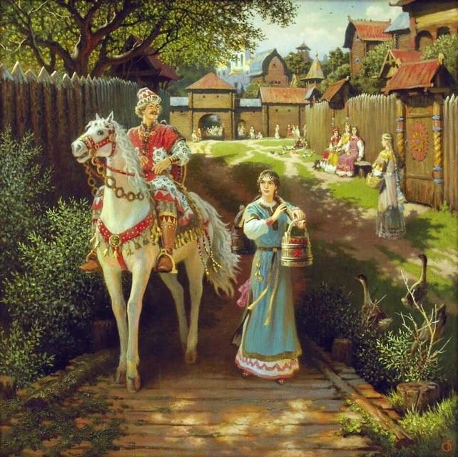 Один день из жизни древних славян