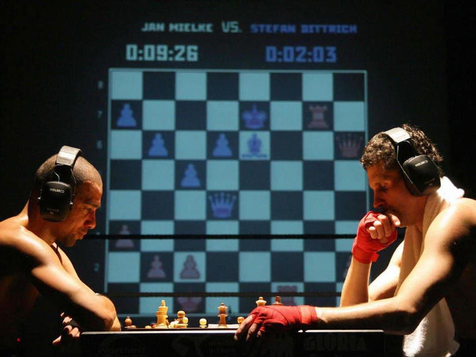 Шахбокс или шахматный бокс
