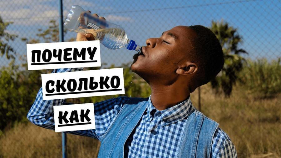 Сколько воды нужно пить в день: советы и мифы