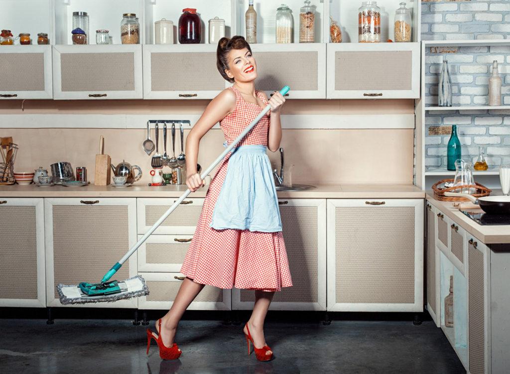 1. Место женщины – на кухне