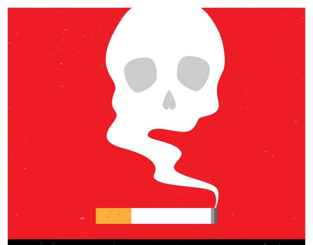 Какие органы больше всего страдают от табака?