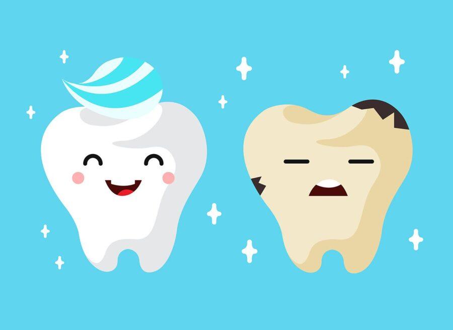 Полезные и вредные продукты для зубов