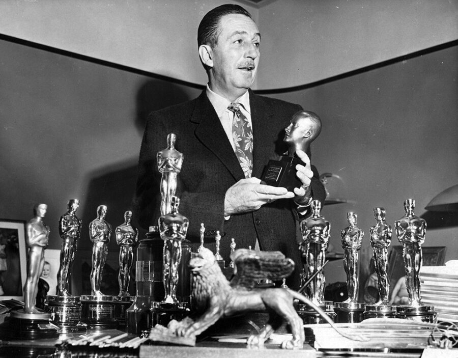 Уолт Дисней – чемпион по количеству «Оскаров»
