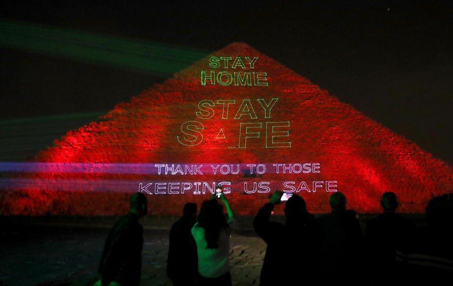 Египетские пирамиды использовали как средство борьбы с коронавирусом