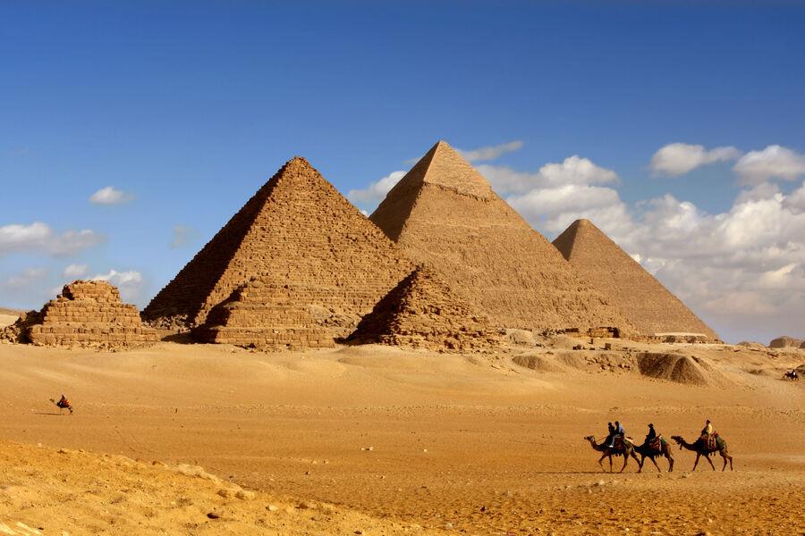 Египетские пирамиды могут исчезнуть