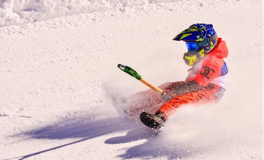 Гонки на лопатах – необычный зимний вид спорта
