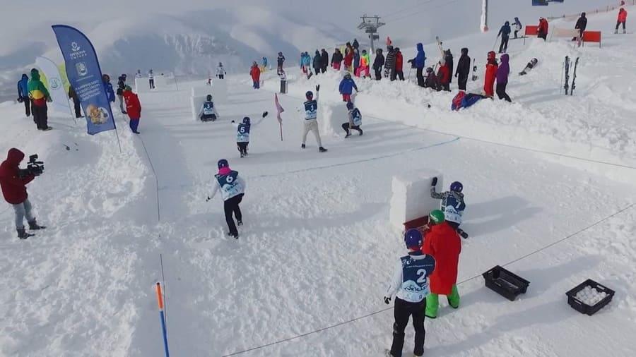 Юкигассен – необычный зимний вид спорта