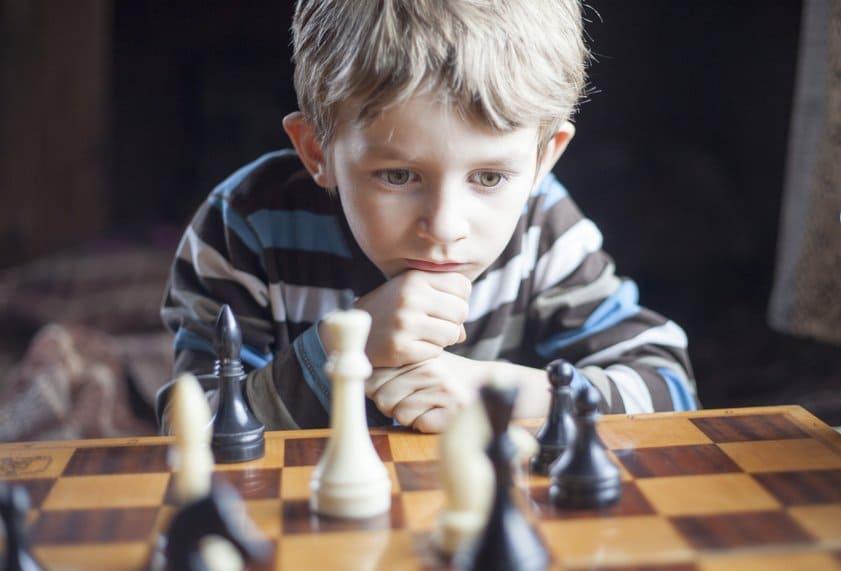 Шахматы учат концентрироваться на проблеме