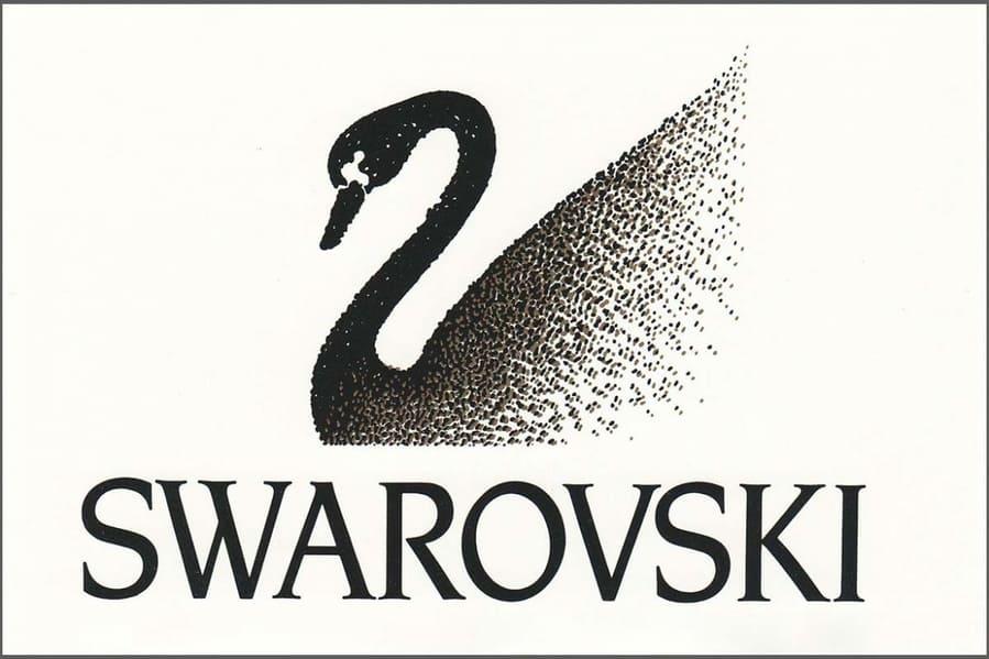 1989 год, первый логотип с лебедем