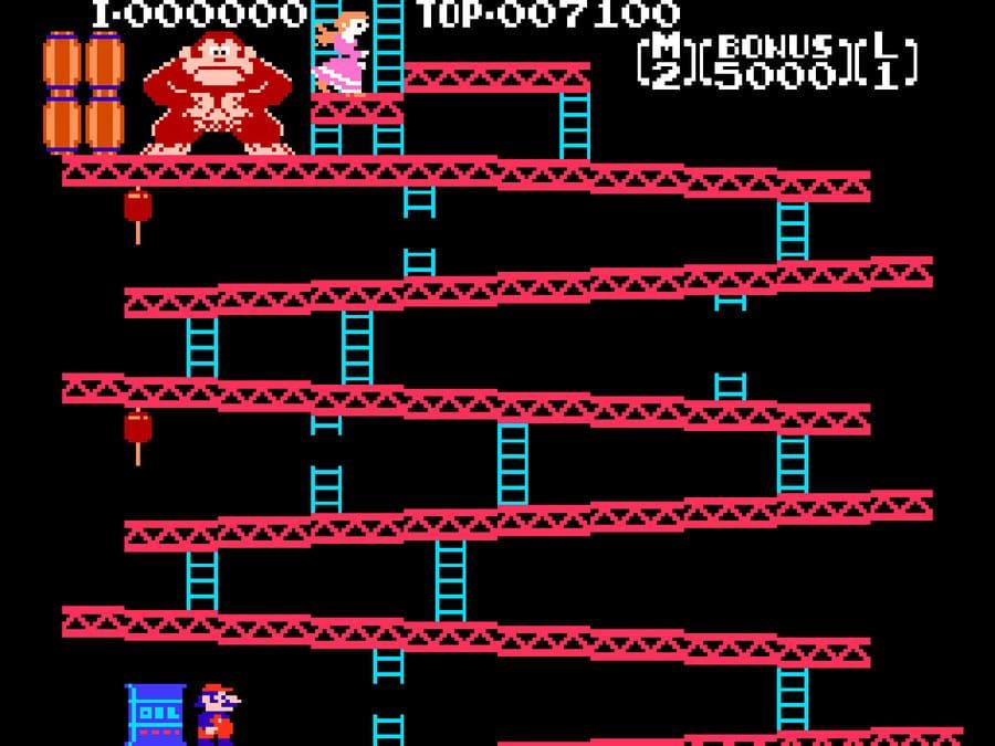 Игра Donkey Kong