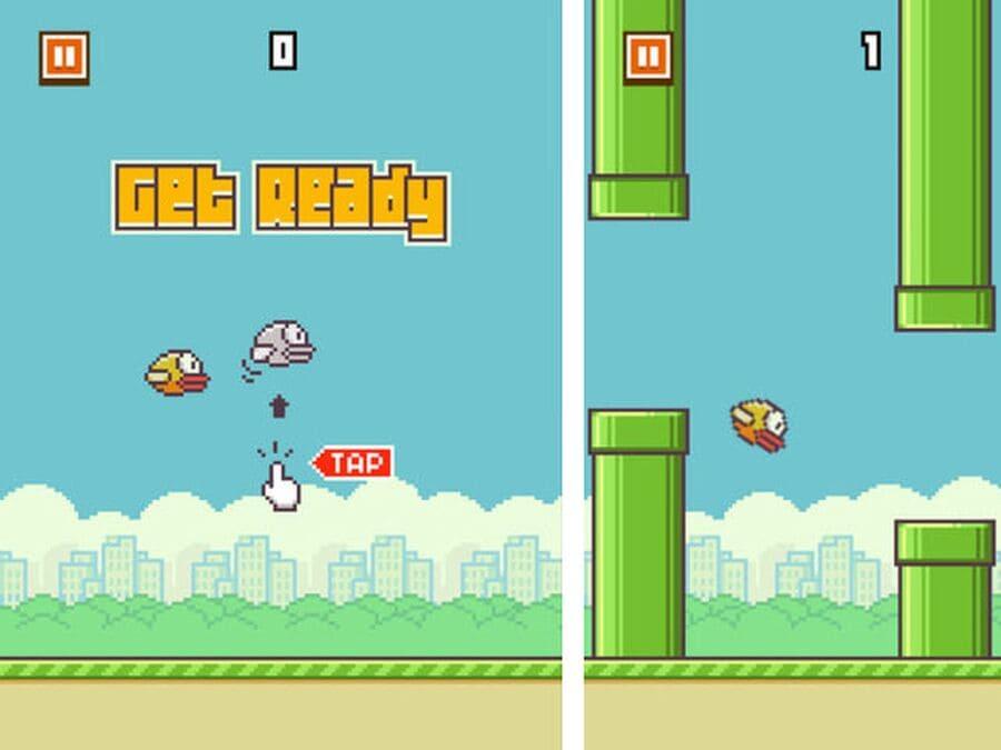 Игру Flappy Bird удалили из-за зависимости игроков, несмотря на то, что она приносила 50 тыс. долларов день